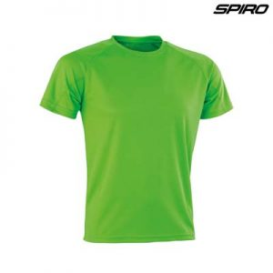 The Spiro Impact Performance Aircool T Shirt is an air dry soft mesh fabric tee. 15 colours. S - 5XL. Great branded quick dry tees from Spiro.