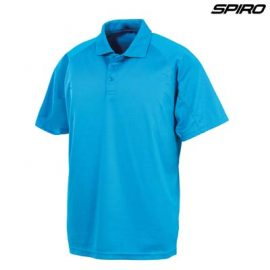 The Spiro Impact Performance Aircool Polo is a 130gsm polyester, breathable, quickdry polo.  15 Colours.  S - 5XL  Great branded performance polos from Spiro.