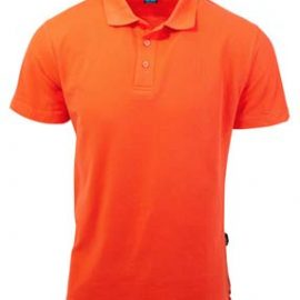 The Aussie Pacific Mens Hunter Polo is a 210gsm, driwear polo.  S - 7XL.  17 colours.  Ladies & Kids too.  Great branded poly/cotton polos from Aussie Pacific.