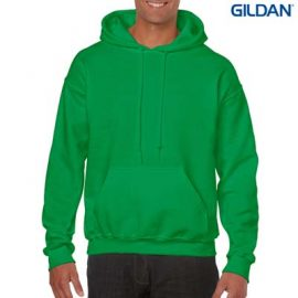 The Gildan Adult Hooded Sweatshirt is a 50% cotton, 279gsm sweatshirt.  15 colours.  S - 5XL.  Great branded cost effective hoodies for all occasions.