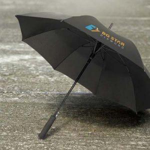 The TRENDS Cirrus Umbrella is an affordable 59cm, 8 panel, auto opening umbrella. Fibreglass frame. 3 colours. Great branded marketing umbrellas.