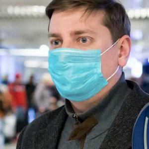 The TRENDS Disposable 3-Ply Face Mask is a disposable face mask with internal layer of melt blown fabric. Blue. Great safety and PPE from TRENDS.