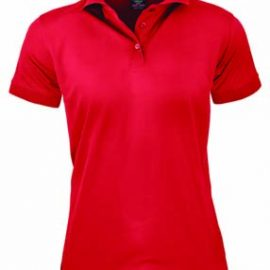 The Aussie Pacific Ladies Lachlan Polo is a 160gsm polyester, driwear polo shirt.  9 colours.  6 - 26.  Great branded polo shirts from Aussie Pacific.