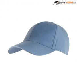 The Headwear24 Adult 6 Panel Brushed Cotton Cap is a 270gsm heavy brushed cotton cap.  18 colours.  OSFA.  Great branded brushed cotton caps.