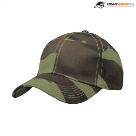 The Headwear24 6 Panel Camo Cap is a 185gsm camo printed cotton twill cap.  OSFA.  6 panel.  Great branded camo caps ready for branding.