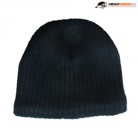 The Headwear24 Cable Knit Beanie is a fleece lined, acrylic knit beanie.  Black or Navy.  OSFA.  Great beanies that are ready to be embroidered with your logo.