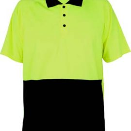 The Work-Guard Basic Safety Polo is a polyester, 135gsm driwear hi vis polo.  4 colours.  S - 5XL.  Great branded hi vis workwear polos from Work-Guard.
