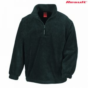 The Result Polartherm Adult 1/4 Zip Jacket is a 330gsm polyester 1/4 Zip Jacket. 6 colours. XS - 3XL. Embroidery. Great branded 1/3 Zip fleece jackets.