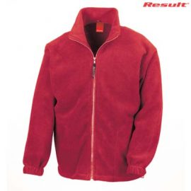 The Result Polartherm Adult Full Zip Jacket is a 330gsm polyester fleece.  6 colours.  XS - 3XL.  Great branded full zip fleece jackets from Result.