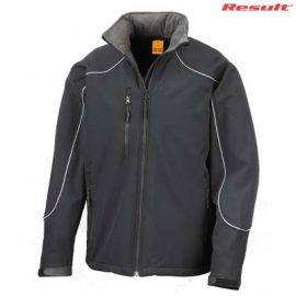 The Result Adult Ice Fell Hooded Jacket is a fitted, waterproof jacket with microfleece inner.  3 colours.  Great embroidered waterproof jackets.