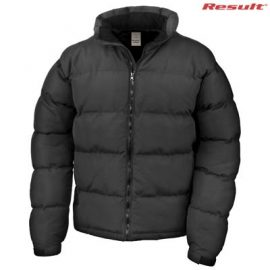 The Result Holkham Unisex Puffer Jacket is a Stormdri Polyester jacket.  Insulated.  Black.  XXS - 5XL.  Great branded puffer jackets from Result.