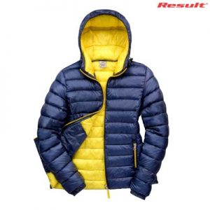 The Result Urban Ladies Snowbird Hooded Jacket is a relaxed fit, nylon puffer jacket. 5 colour options. S - 3XL. Great branded puffer jackets from Result.