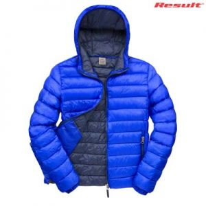 The Result Urban Mens Snowbird Hooded Jacket is a relaxed fit, nylon puffer jacket. 5 colour options. S - 5XL. Great branded puffer jackets from Result.