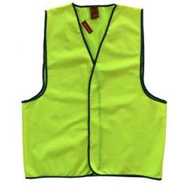 The Work-Guard Adult Safety Vest is a 120gsm 100% polyester hi vis vest. Orange or Yellow. S - 5XL. Great branded hi vis vests from Work-Guard.