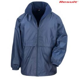 The Result Core Adult Dri Warm & Lite Jacket is a relaxed fit, StormDri polyester outer with microfleece inner. 6 colours. Great branded jackets.