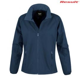 The Result Ladies Core Printable Softshell Jacket is a slim fit, polyester outer, microfleece inner softshell jacket.  4 colours.  XS - 3XL.  Great softshell jackets.