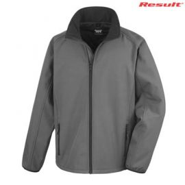 The Result Mens Core Printable Softshell Jacket is a slim fit, polyester outer, microfleece inner softshell jacket.  4 colours.  S - 5XL.  Great softshell jackets.