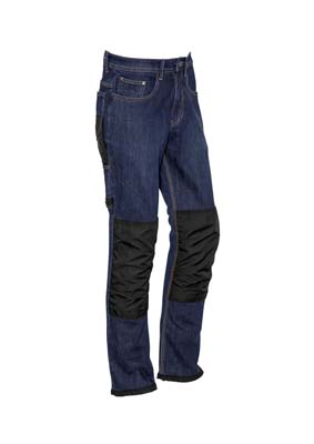 The Syzmik Heavy Duty Cordura Stretch Denim Jeans is a 99% Cotton denim work jeans with cordura patches. 72 - 132. Great branded jeans and workwear from Syzmik.
