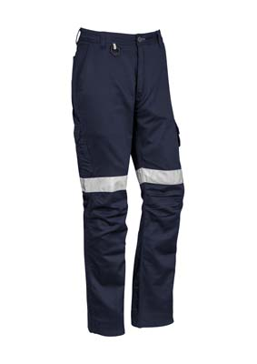 The Syzmik Mens Rugged Cooling Taped Pant is a square weave cotton ripstop, 240gsm pant.  Navy.  72 - 132.  Great pants and workwear from Syzmik.