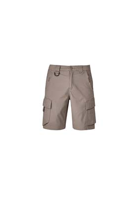 The Syzmik Mens Streetworx Curved Cargo Short is a 98% cotton cargo short. 4 colours. 72 - 132. Great cargo shorts and workwear from Syzmik.