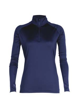 The Aurora Sport Womens Stadium Quarter Zip is a 150gsm, 90% polyester, quick dry and breathable performance top. 3 colours. Great sports performance tops.