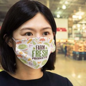 The TRENDS Reusable Face Mask Full Colour - Large is a reusable face mask which protects with 2 layers of 140gsm polyester. Full colour branded face masks.