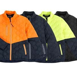 The Syzmik Hexagonal Puffer Jacket is a polyester outer with polyester fill, hexagonal puffer design jacket. 4 colours. Great branded puffer jackets from Syzmik.