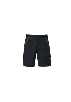 The Syzmik Streetworx Tough Short is a 65% polyester, 33% cotton short. 2% spandex. 4 colours. 72 - 132. Great streetworx shorts and workwear from Syzmik.