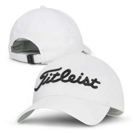 The Titleist Tour Performance Cap is a 6 panel cap with pre curved peak.  Moisture wicking performance material.  2 colours.  Embroidered.  Great golf caps.