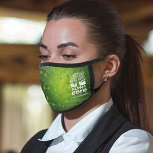 The TRENDS Full Colour 3-Ply Reusable Face Mask is a large reusable face mask made from cotton and spandex.  Can be branded full colour.