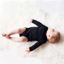 The Baby Blanks Long Sleeve Bodysuit is ideal for printing and embroidering on.  Size newborn to 12 - 18 months.  3 colours.  Great quality, printable baby clothes.