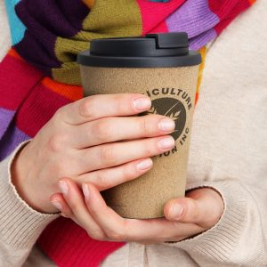 The TRENDS Oakridge Double Wall Cup is a eco inspired 350ml reusable double wall coffee cup. Great printed drinkware from TRENDS.