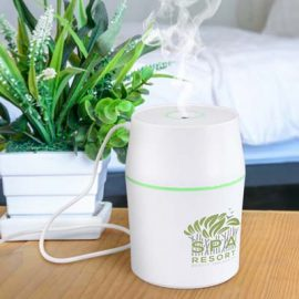 The TRENDS Aroma Diffuser provides a relaxing fragrant environment.  White.  Powered from USB or mains.  Just add your essential oils.