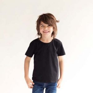 The Baby Blanks Kids Tee is ideal for printing and embroidering on. Size 0 - 5. 7 colours. Great quality, printable baby clothes. For bigger sizes click here