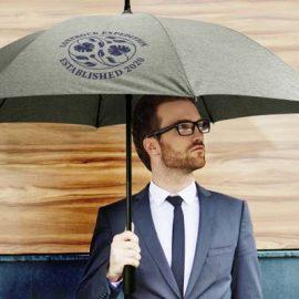 The TRENDS Hydra Umbrella Elite s a premium 76cm, 8 panel auto opening sports umbrella. Single colour print or full colour transfer available,
