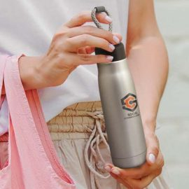 The TRENDS Halifax Vacuum Bottle is a classically designed, 500ml double wall, vacuum stainless steel drink bottle. 2 colours. Great brandable vacuum bottles.