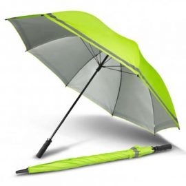 The PEROS Eagle Umbrella is a great hi vis coloured umbrella. Ideal for safety conscious workplaces. Hi Vis Yellow. Print and transfer branding available.