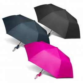 The PEROS Vienna Umbrella is a folding, auto open and close umbrella. 8 panels. 3 colours. Great branded umbrellas with print or transfer.