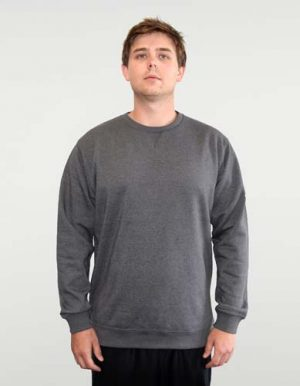 The Urban Collab Broad Crew Neck is a 320gsm, cotton rich hoodie. In 7 colours. XS - 5XL. Great heavy weight crew sweat at a great price point.