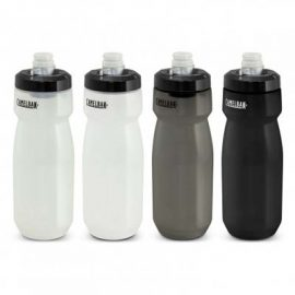 The Camelbak Podium Bike Bottle is a 700ml bottle from Camelbak. Now available to be screen printed to co-brand with your logo. 4 colours of bottles.