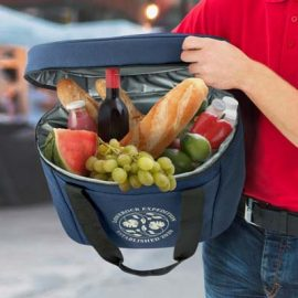 The TRENDS Caspian Cooler Bag is a large 20l cooler bag. Available with screen print or full colour transfer. 3 colours to choose from.