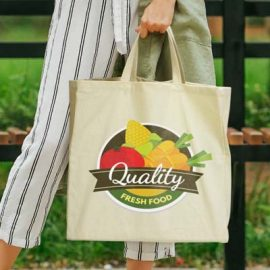 The TRENDS Galleria Cotton Shopping Tote is a large tote bag with extra wide gusset. Natural. 280gsm natural cotton. Print or full colour transfer.