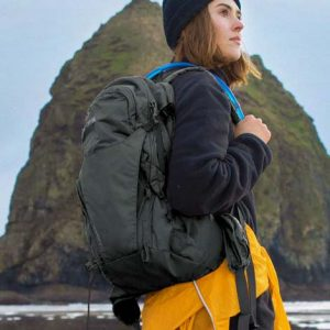 The Camelbak Rim Runner Hydration Pack is a backpack bursting with features. 22L. Printed with your logo. In Black. Great high quality products from Camelbak.